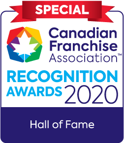 Canadian Franchise Association Recognition Awards 2020